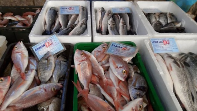 Trogir Fish Market