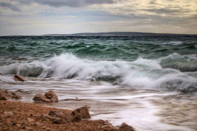 The Sea Stirred by the Bora