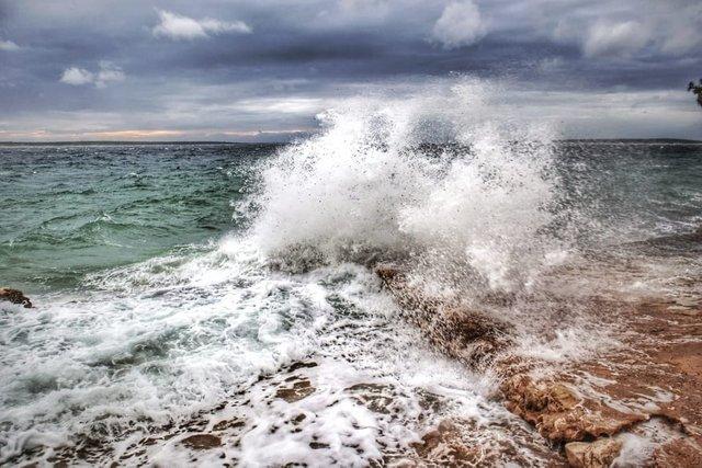 Bora on Sea
